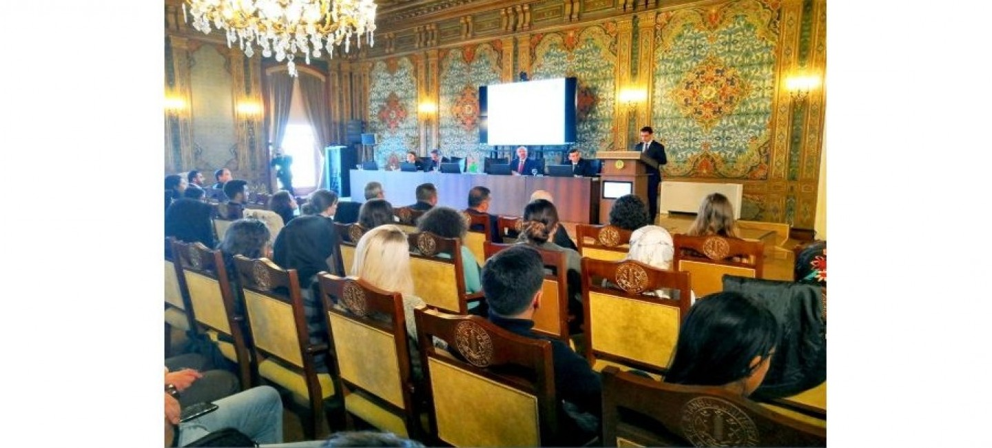 PRESENTATION OF THE TRANSLATION OF THE BOOK OF THE PRESIDENT OF TURKMENISTAN INTO TURKISH LANGUAGE HELD AT ISTANBUL UNIVERSITY