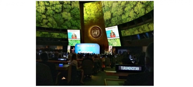 САММИТ ПО МЕРАМ В ОБЛАСТИ ИЗМЕНЕНИЯ КЛИМАТА ПРОШЁЛ В РАМКАХ 74-ОЙ СЕССИИ ГЕНЕРАЛЬНОЙ АССАМБЛЕИ ООН