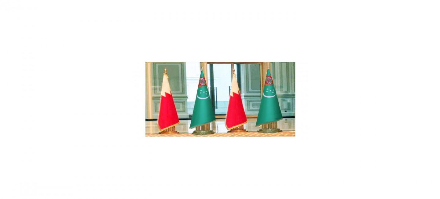 THE PRESIDENT OF TURKMENISTAN AND THE KING OF BAHRAIN DISCUSS AGENDA OF COOPERATION IN TELEPHONE CONVERSATION