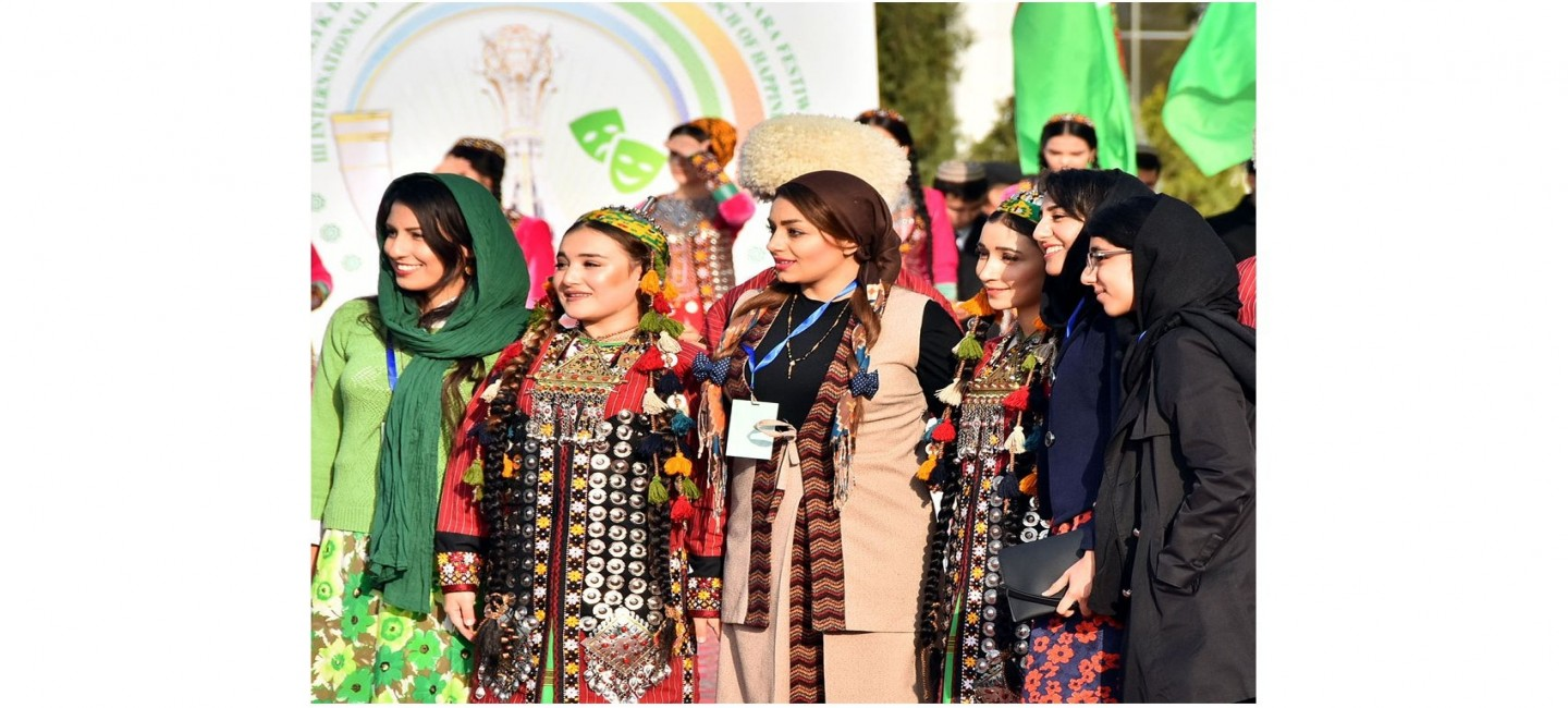 INTERNATIONAL FESTIVAL BRINGS TOGETHER THEATRE GROUPS REPRESENTING 12 COUNTRIES IN ASHGABAT